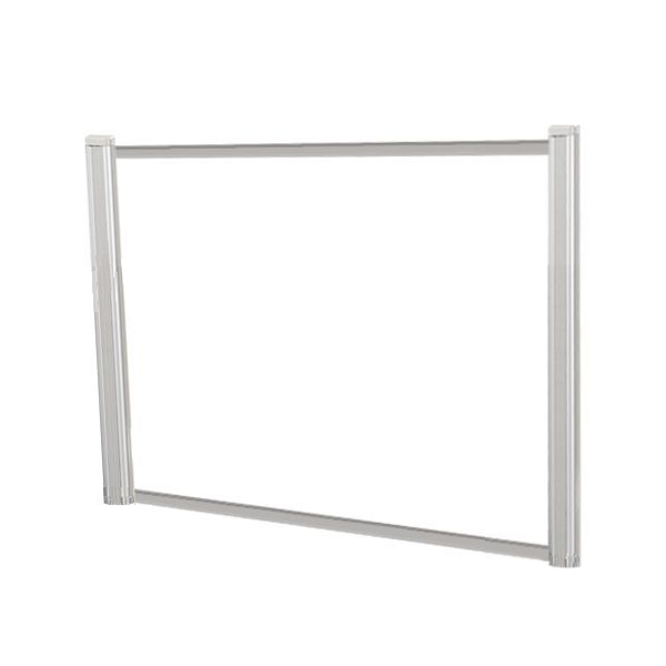 "42"" or 48""W x 2'H Clear Desk Shield"