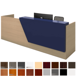 "Overture Reception Desk - 120""W"