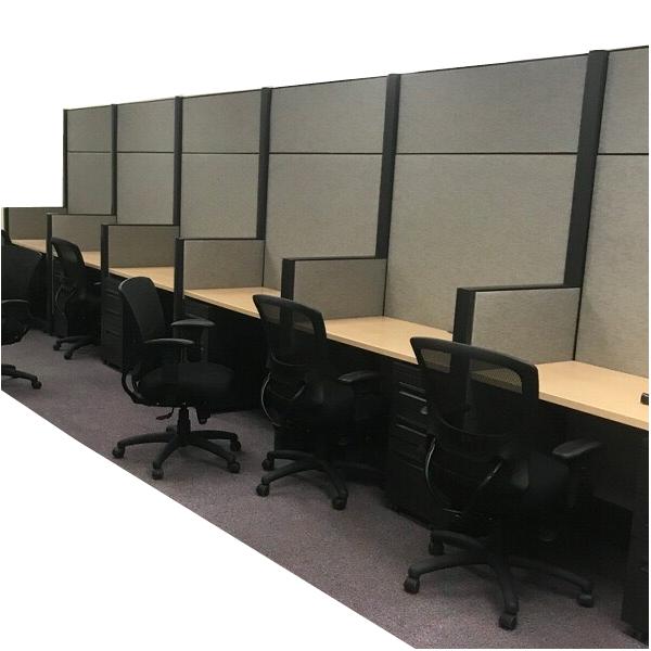 Haworth Premise Workstation Wall | 80″H