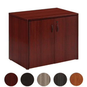 Mahogany Storage Cabinet - Two Doors
