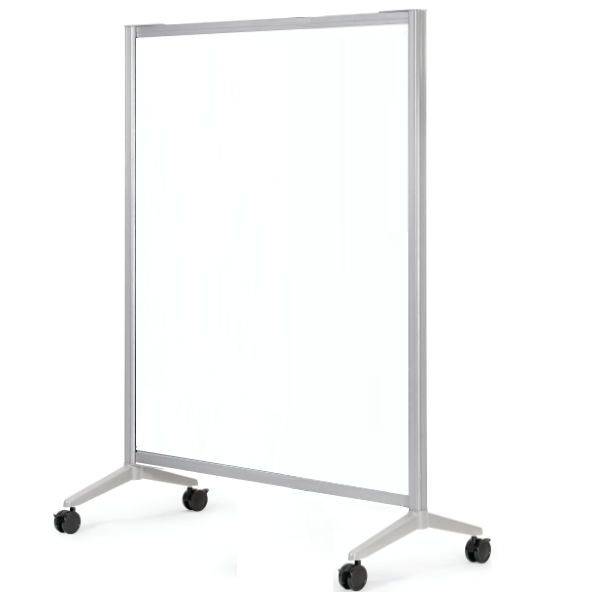 4' x 6'H Clear Acrylic Room Divider