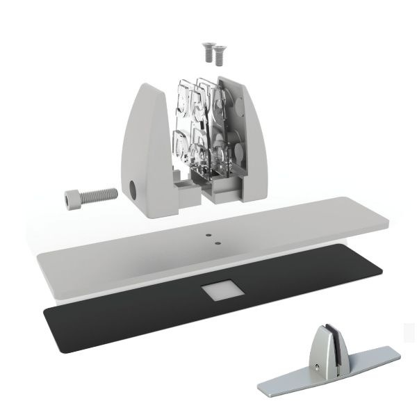 OSCLMBSI Desk Bracket from Office Source - Holds Desk Screens