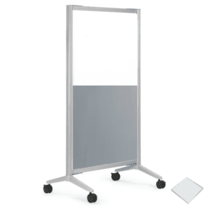 Laminate & Clear Plexiglas Office Divider