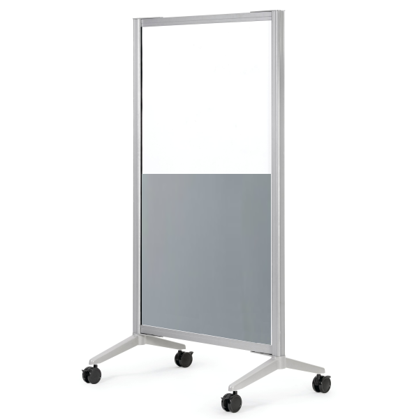 36x72 Mobile Office Room Divider Barrier Screen