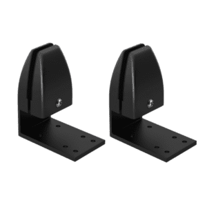 Black Desktop Mounting Brackets