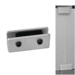 OSSSX Straight Connector for Acrylic Panels and Screens