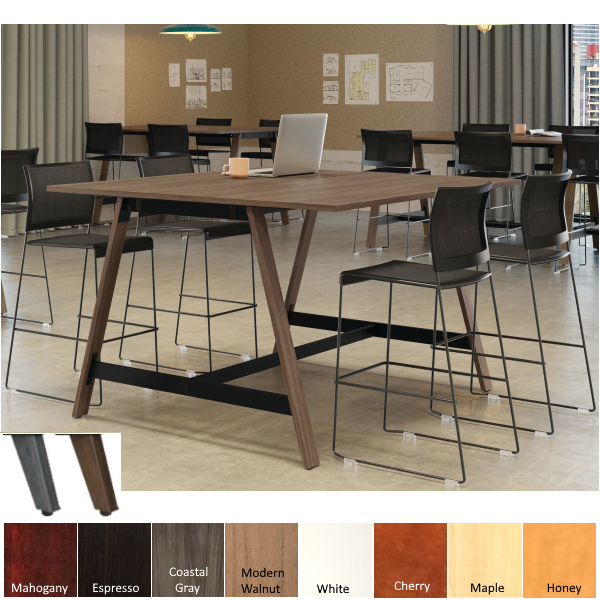 Contemporary Mid Century Conference Table
