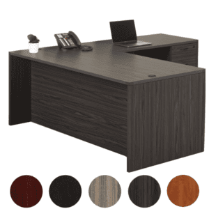 OSP Furniture Napa L-Shaped Desk - NAP03 - 5 Colors