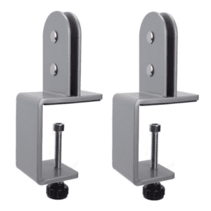 Removable Desk Clamp Mounting Bracket - Desk Hardware for Screens