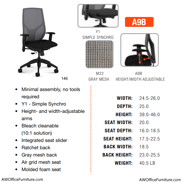 Chair Specification