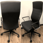 @NCE Office Chairs - Black Model - with Loop Arms