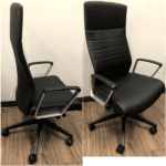 At Once Executive Chair in Pauly Black
