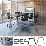 Office Source Standing Height Powered Conference Table