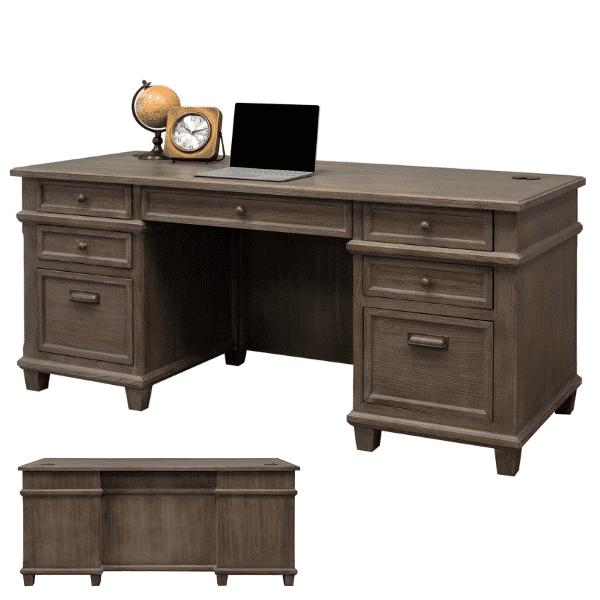 Monroe Double Pedestal Desk