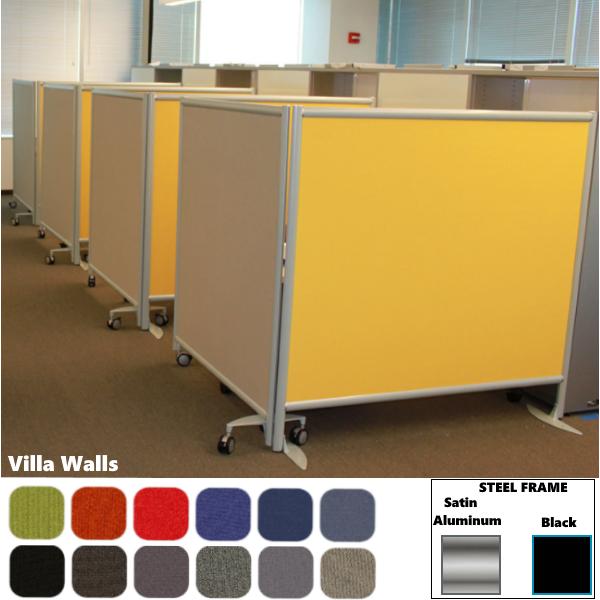 Villa Wall™ Room Divider | 42″& 48″H | 30″ & 37″W