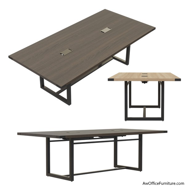 Mirella Conference Tables in Two Finishes