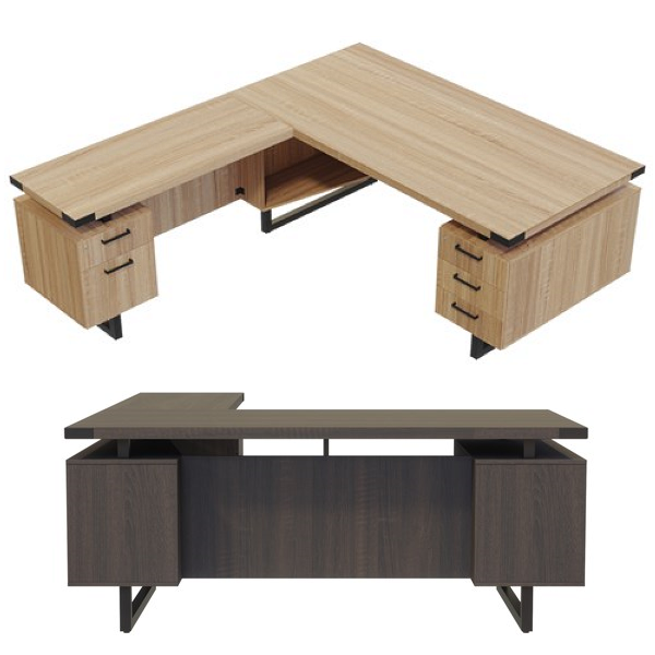 Mirella L-Desk - Contemporary Furniture