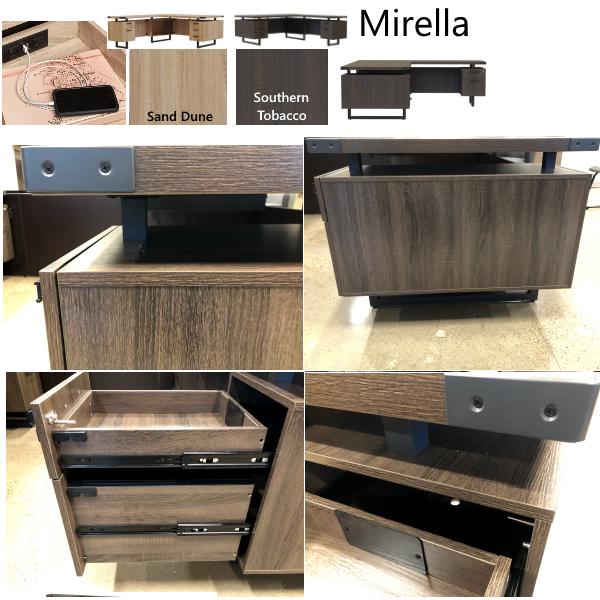 Mirella Series L Desks