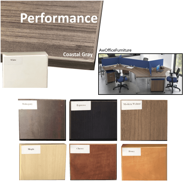 Office source color finishes