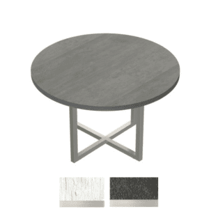 "42"" Round Table in Stone Gray"
