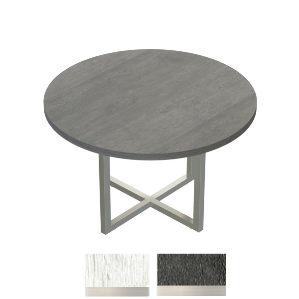 "48"" Round Table in Stone Gray"