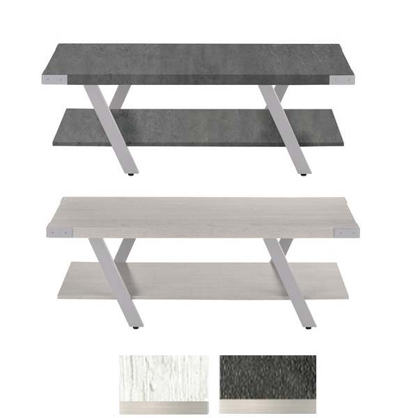 Stone Gray and White Ash Finishes