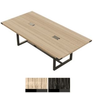 "Mirella 96"" Conference Table in Sand Dune Finish"