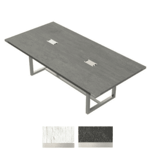 Stone Gray 8' Mirella Conference Table