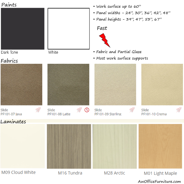 Laminates Fabrics and Paint Finishes - Anderson and Worth