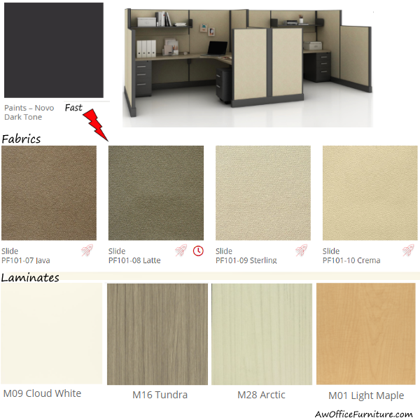 Friant Novo Fast Materials - Fabrics, Laminates and Paint