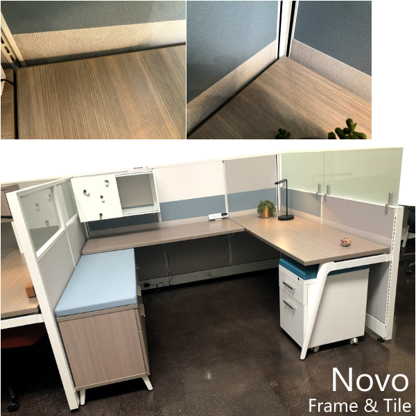 Novo Series Display Mock Up Cubicle Workstation