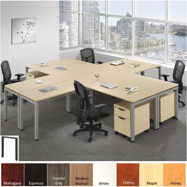 Variant Unite Leg Workstations from Office Source
