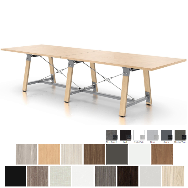 9' Conference Table 11' Conference Table - Enwork Adventure