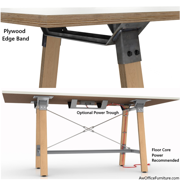 Enworj Adventure Powered Conference Table