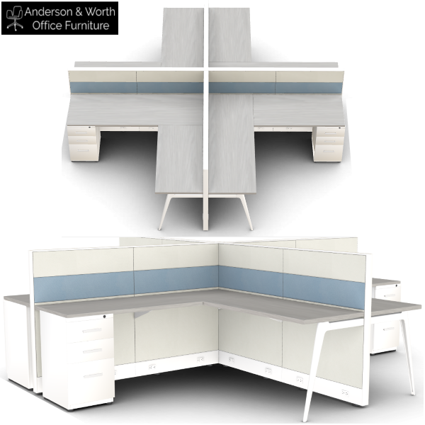 FH313 workstation cubicle - anderson and worth