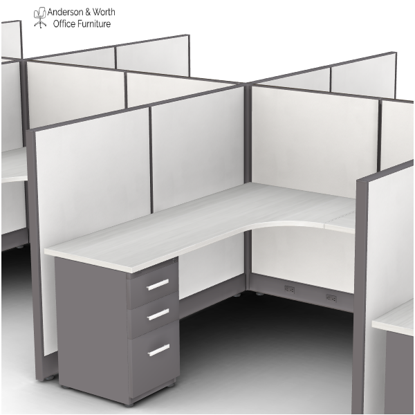 6x6 Cubicle Interior View