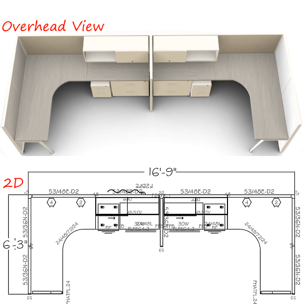 2D & Overhead Workstations