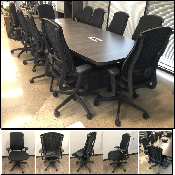 celle chairs - array collection of conference seating