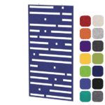 Dash Cutout Acoustical Panel - Ceiling or Wall Panel