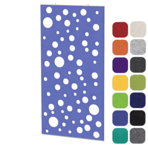 Acoustical Panel - Ceiling or Wall Hung Board in 14 Colors