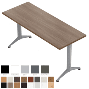 Zori Training Table with T-Leg Base
