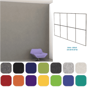 Mergeworks PET Wall Tiles - Acoustical Sound Absorption