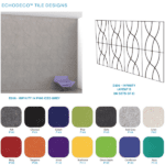 Sound Proof Acoustical Wall Tiles