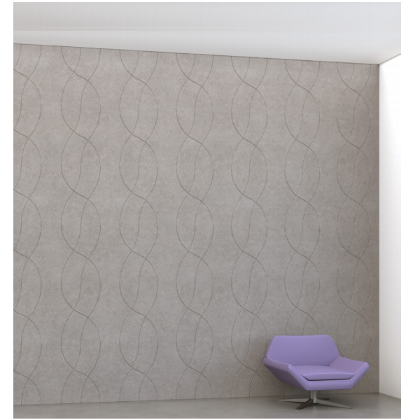 Horizontal Pattern Acoustic Wall - Colors